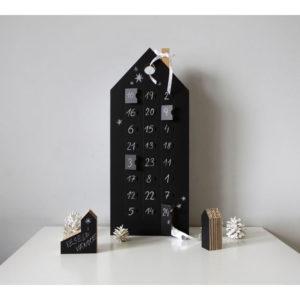 Adventný kalendár s tabuľovou plochou Unlimited Design for kids - papierový adventný kalendár -  čo do adventného kalendára -  výroba adventného kalendára -  inspiracia adventny kalendar