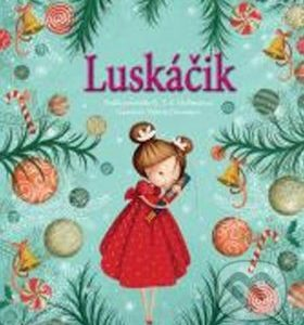 Luskáčik - najkrajšie detské knihy o Vianociach -  vianočné detské knihy -  knihy pre deti o Vianociach -  kniha o Vianociach -  Vianočné rozprávky -  Vianočné príbehy -  Vianočné koledy