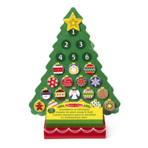 Odrátavací drevený adventný kalendár -  netradičný adventný kalendár -  kinder adventný kalendár -  adventný kalendár pre deti -  adventný kalendár pre dievčatá -  detský adventný kalendár - drevený adventný kalendár