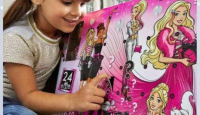 adventny kalendar barbie 2019, adventny kalendar 2019, adventny kalendar s babikou, adventny kalendar pre dievcatka, adventny kalendar pre dievcata, adventny kalendar s hrackami