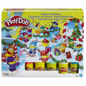 Adventný kalendár s hračkami